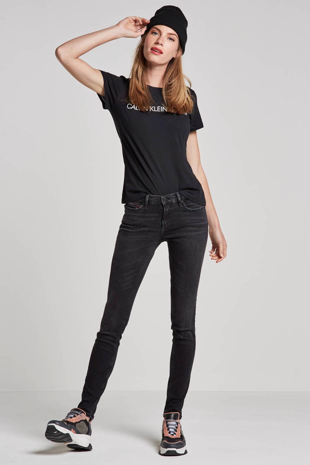 CALVIN KLEIN JEANS T-shirt, Zwart