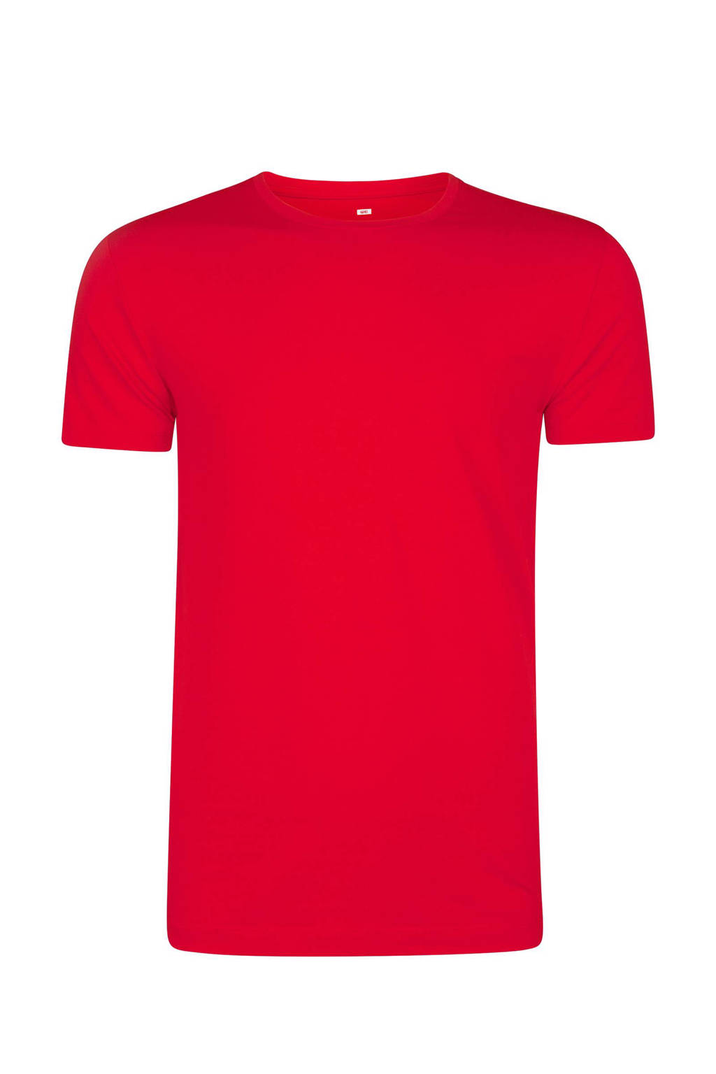 WE Fashion T-shirt rood, Rood