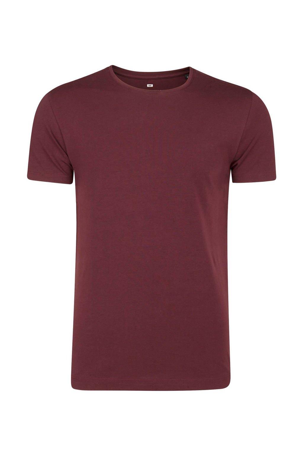 WE Fashion T-shirt, Aubergine