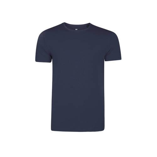WE Fashion Fundamental basic slim fit T-shirt met