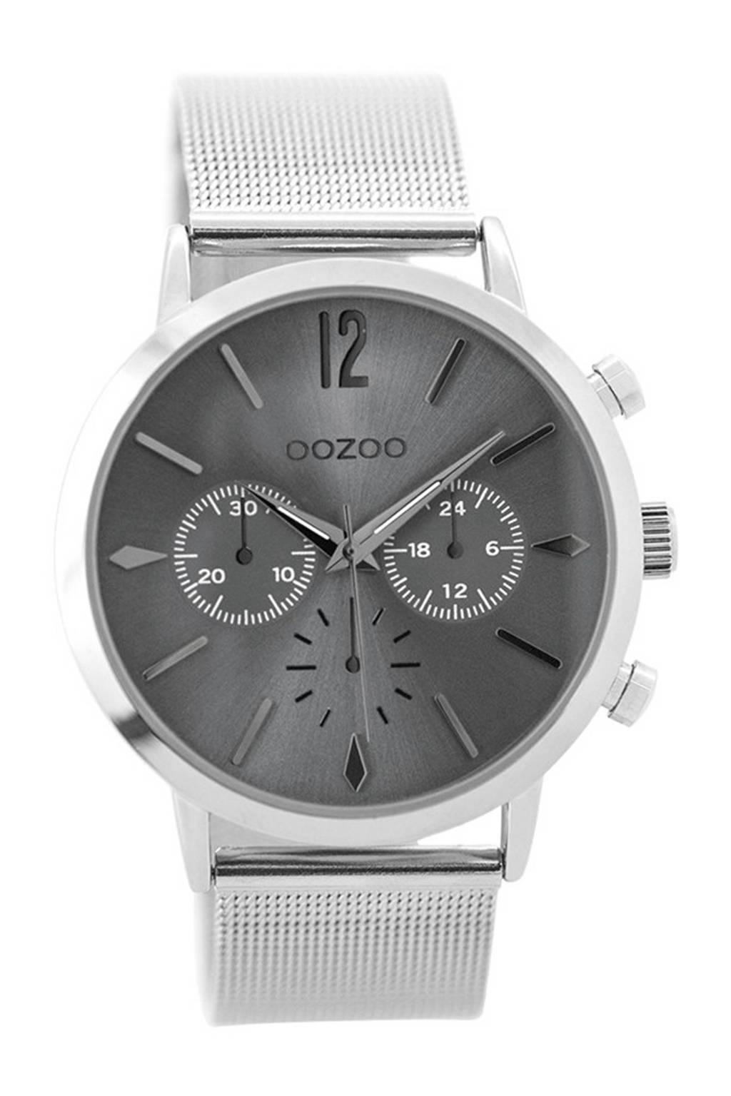 OOZOO horloge  C9465, Zilverkleurig