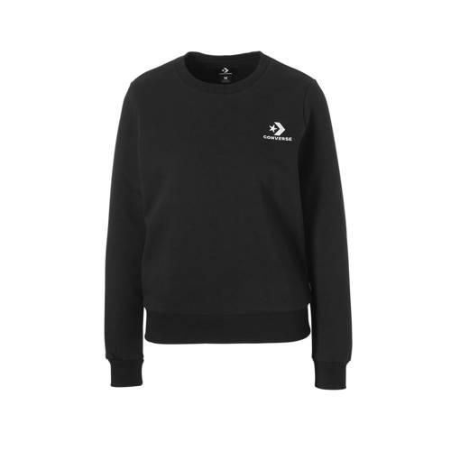 Converse sweater zwart