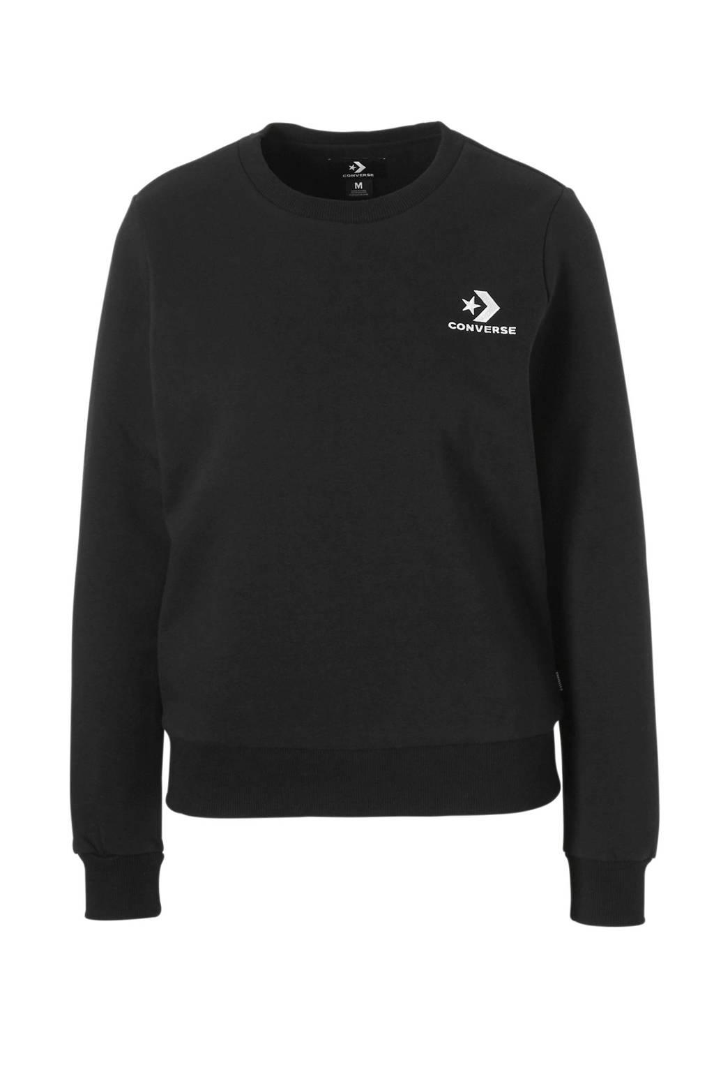 Converse sweater zwart, Zwart