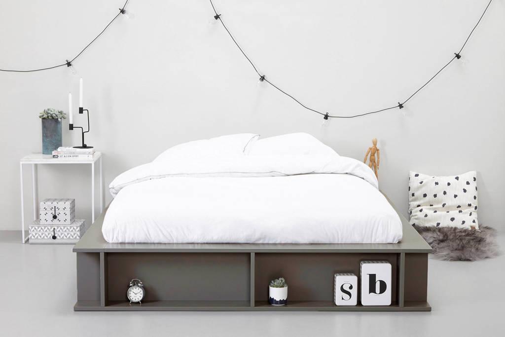 whkmp's own bed Como (160x200 cm), Grijs