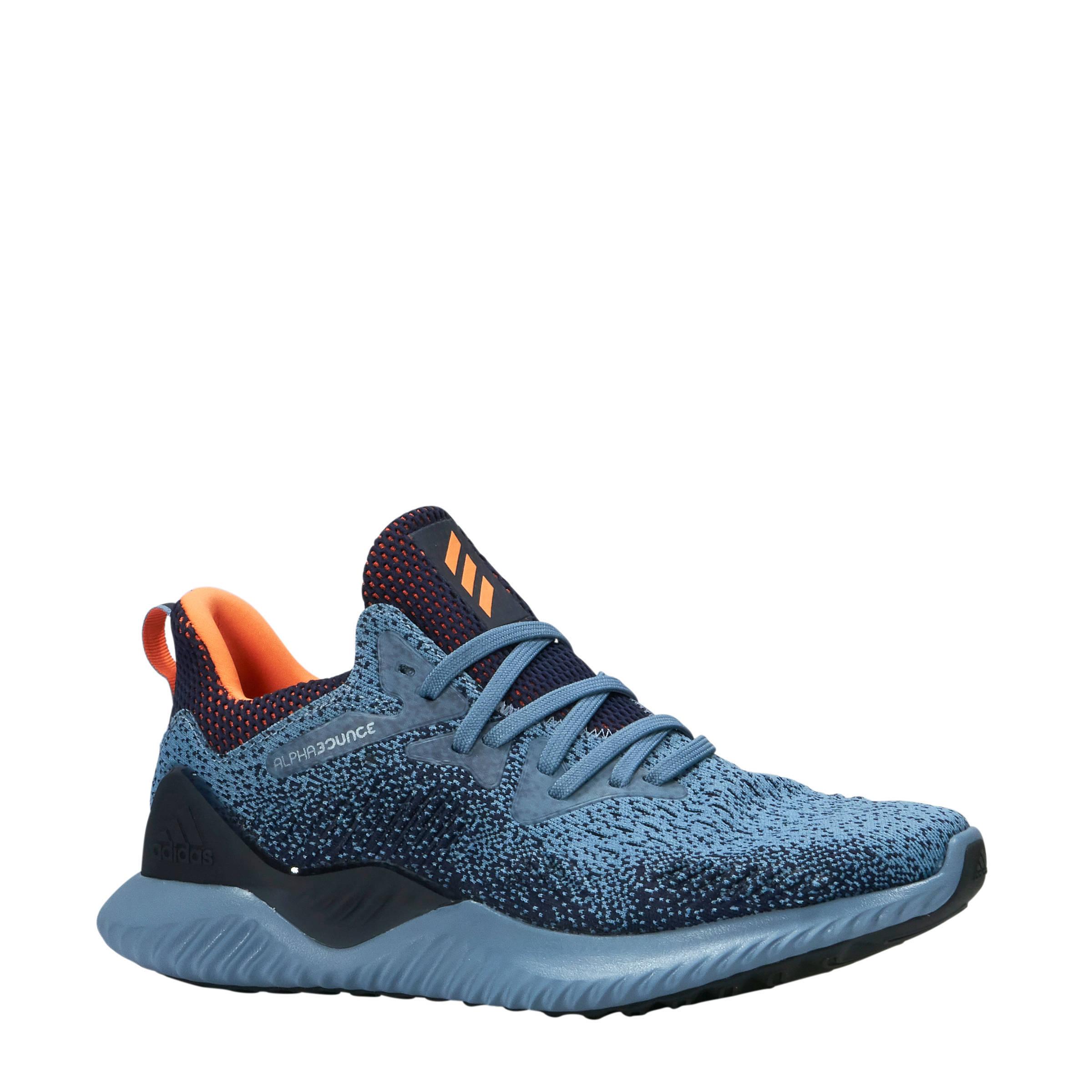 adidas alphabounce blauw