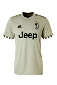 adidas Performance Senior Juventus Uit voetbalshirt, Grijsgroen