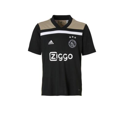 Ajax Uitshirt Zwart-Goud Kinderen Nl