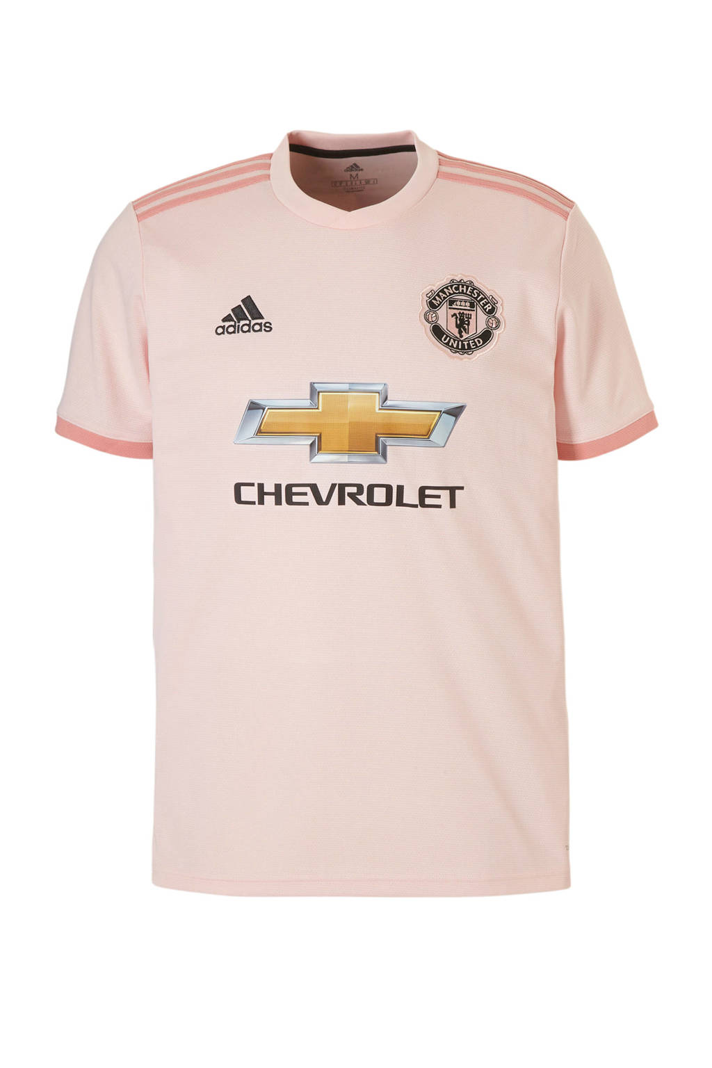 adidas performance Senior Manchester United voetbalshirt, Lichtroeze