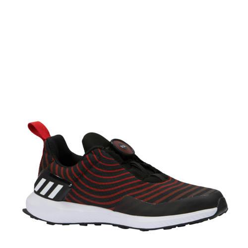 RapidaRun Uncaged B hardloopschoenen zwart-rood
