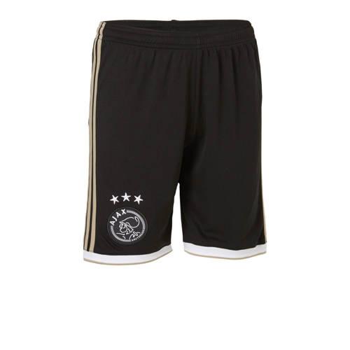 Ajax Uitshort 18-19 Zwart-Goud Kinderen Nl