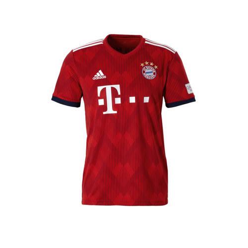 Fc Bayern München Thuisshirt 18-19 Rood Heren Red