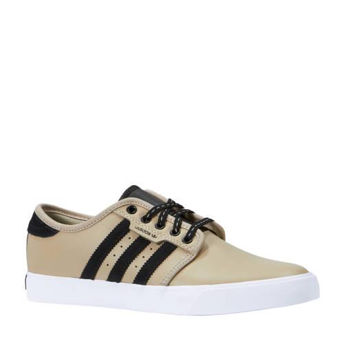 Seeley sneakers beige-zwart