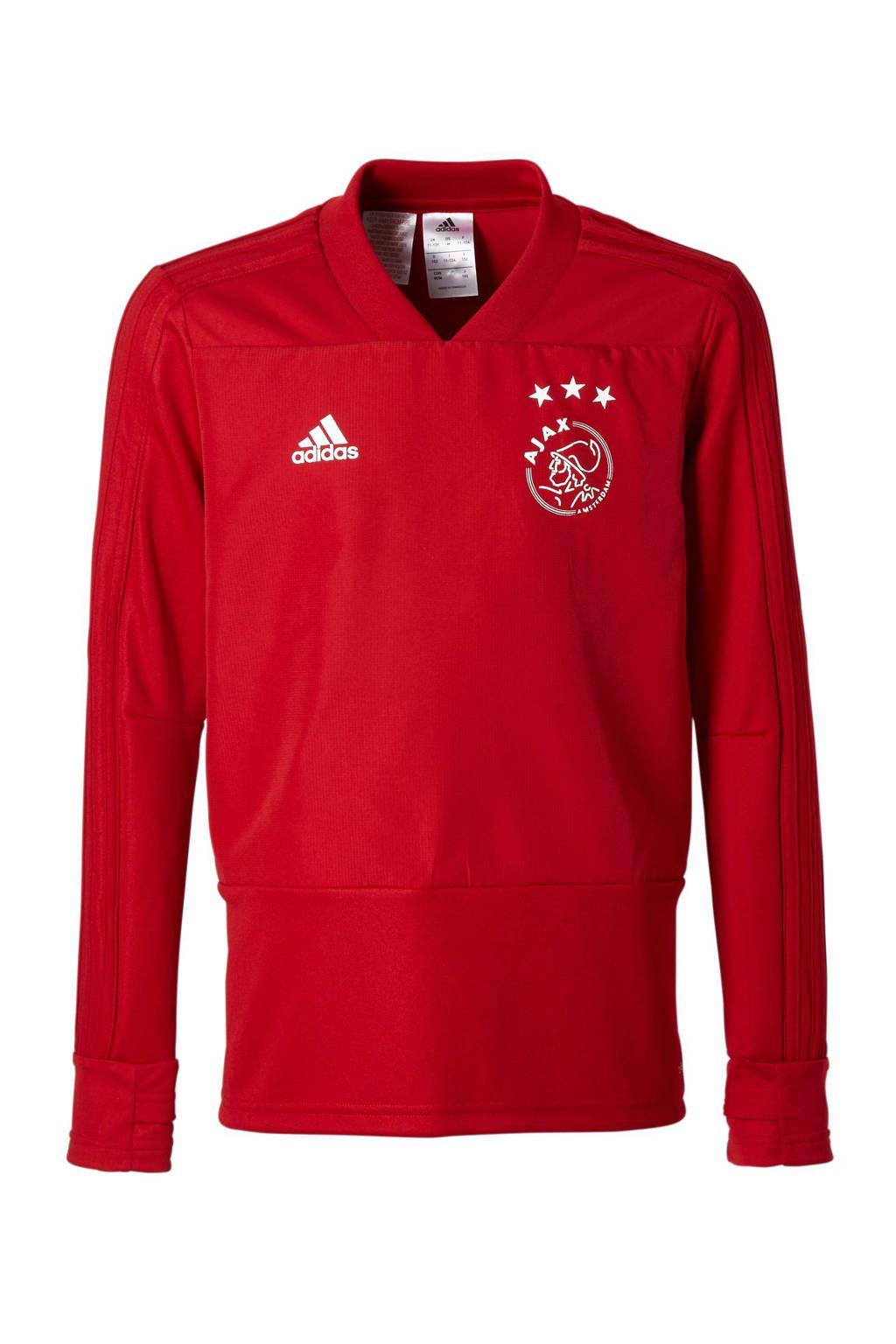 adidas performance Junior Ajax voetbalshirt, Rood