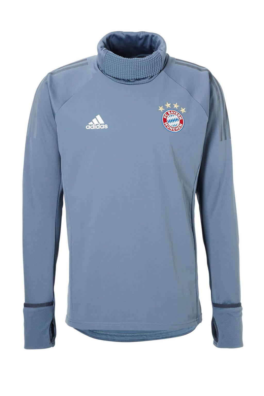 adidas performance Senior FC Bayern München voetbalsweater, Grijs