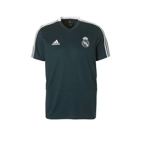 Real Madrid Trainingsshirt 18-19 Blauw Heren Dark Blue