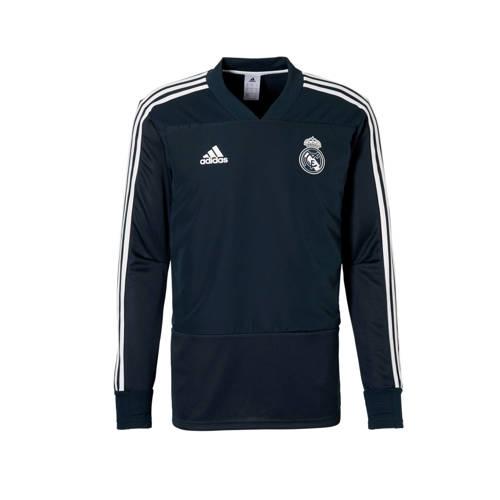 Real Madrid Trainingstop 18-19 Blauw Heren Dark Blue