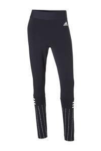 adidas / W SID Print Tgt sportlegging donkerblauw
