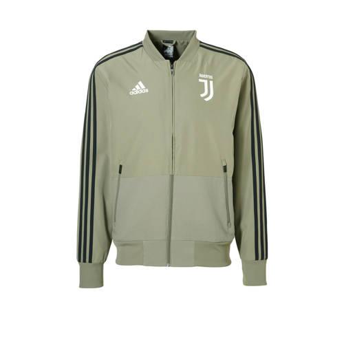 Juventus Presentatiejas 18-19 Grijs-Groen Heren Grey-Green