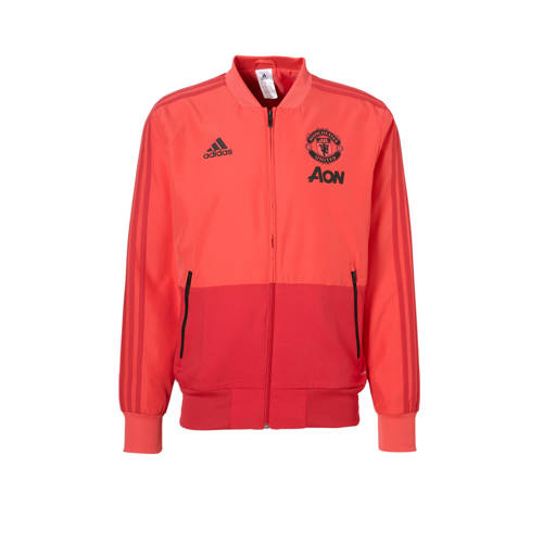 Manchester United Fc Presentatiejas 18-19 Rood Heren Bright Red