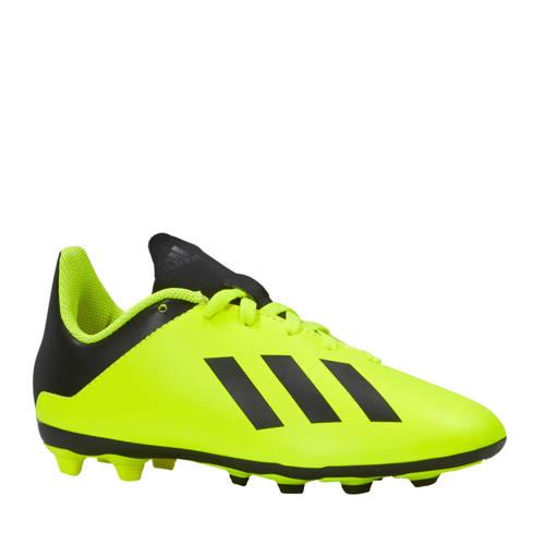 X 18.4 FxG J voetbalschoenen geel