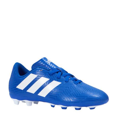 Nemeziz 18.4 FxG J voetbalschoenen blauw