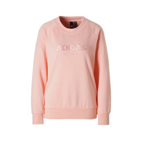 NU 15% KORTING: adidas Performance sweatshirt ESSENTIALS ALLCAP SWEAT