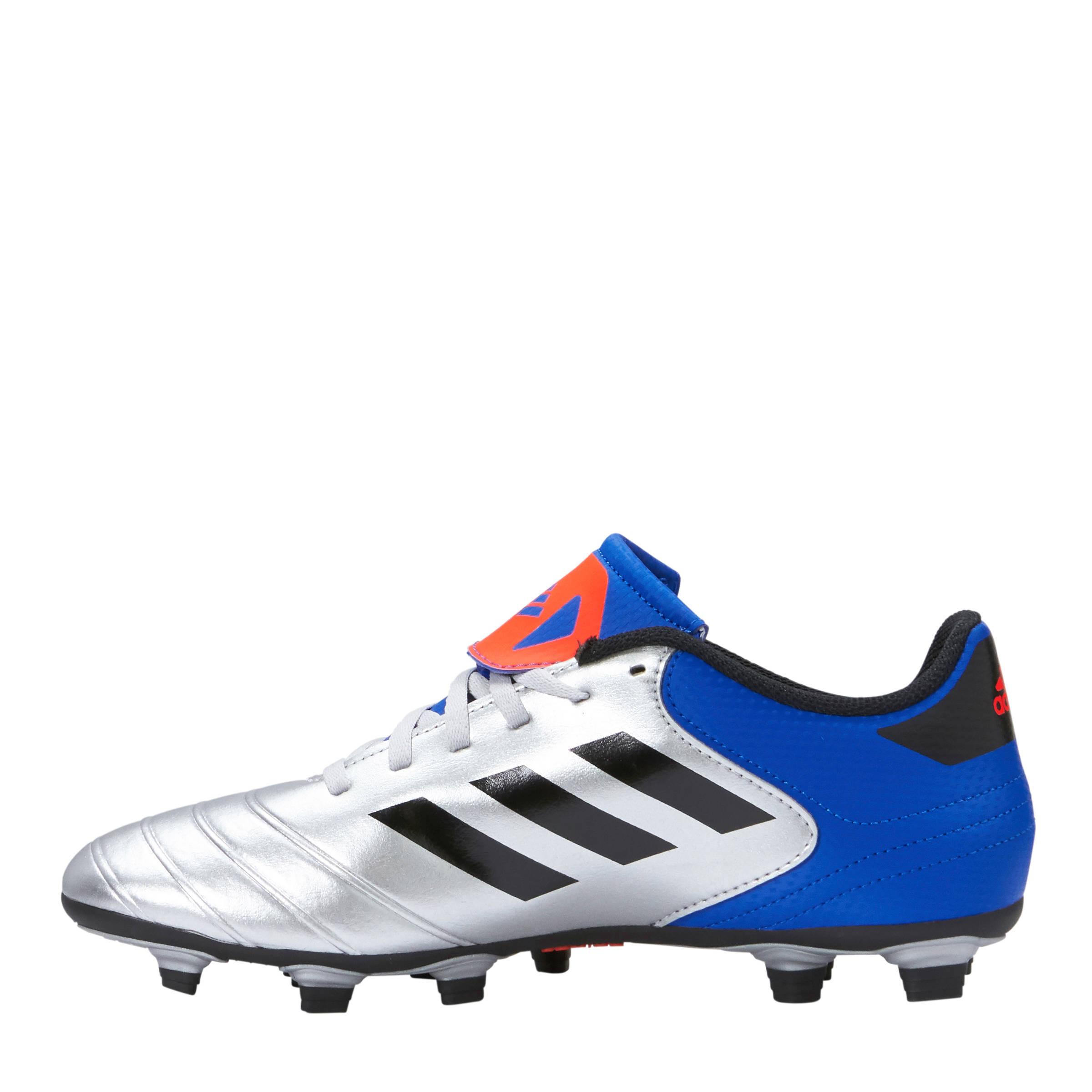 various colors 300b3 d2013 adidas performance Copa 18.4 FxG voetbalschoenen zilvergrijs