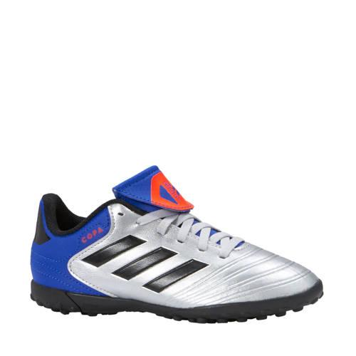 Copa Tango 18.4 TF zaalvoetbalschoenen zilver