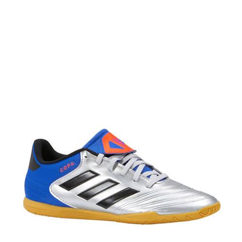 Copa Tango 18.4 IN zaalvoetbalschoenen zilver