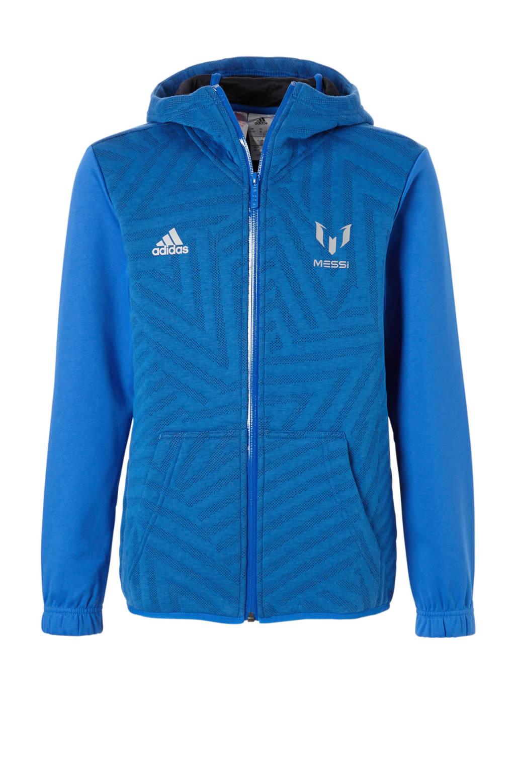 adidas performance   Messi sportvest blauw, Blauw
