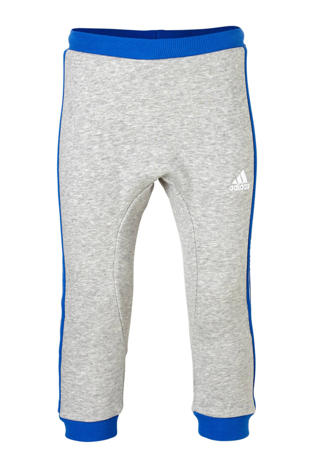 adidas performance   joggingbroek blauw, Lichtgrijs/blauw