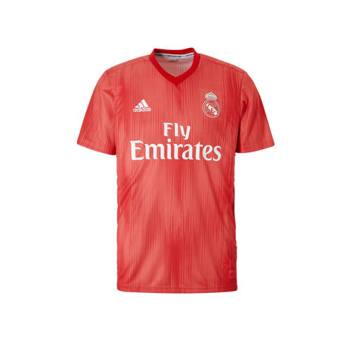Real madrid third shirt 18-19 roze-oranje heren