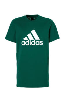 performance   T-shirt groen