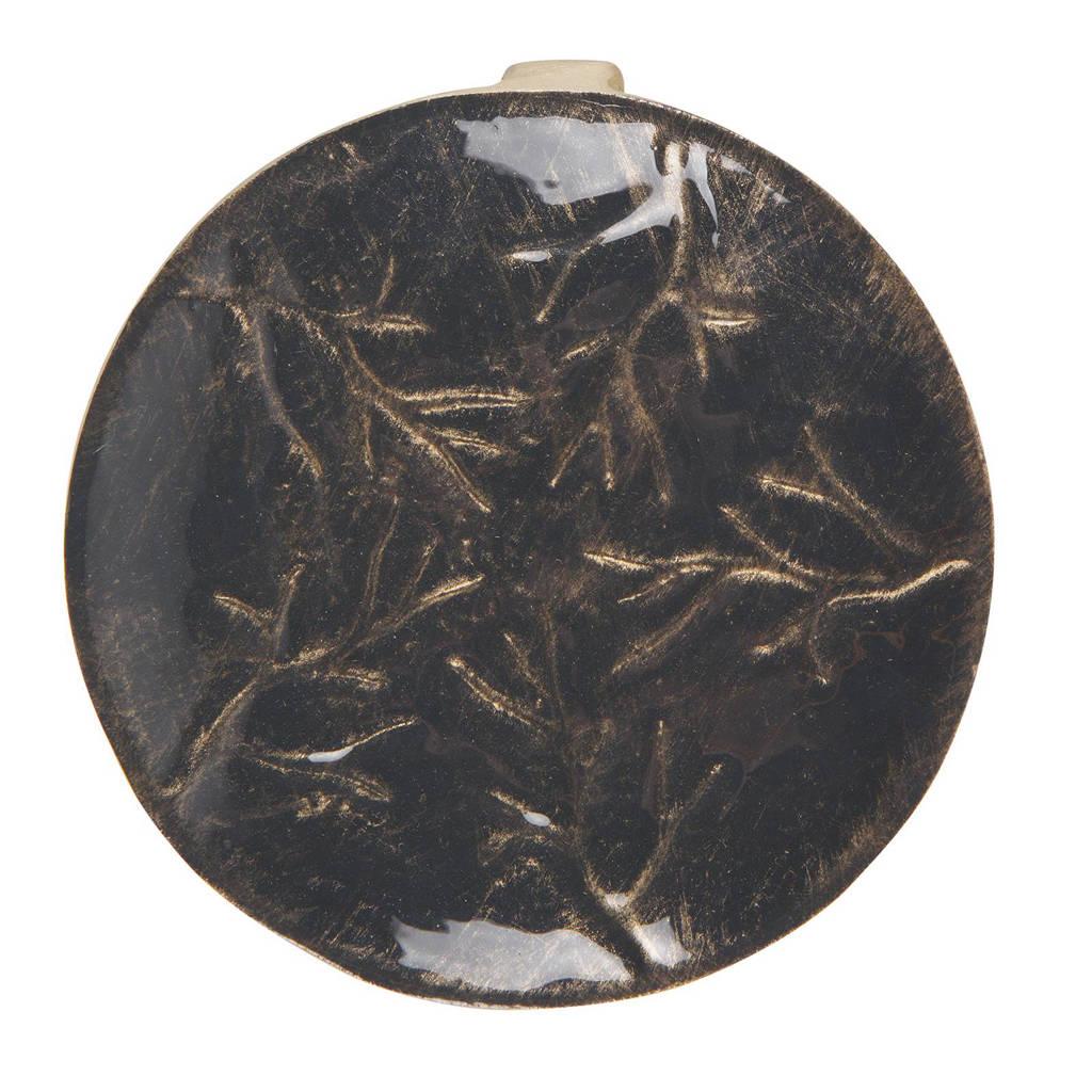 BePureHome decoratie schaaltje (Ø13.5 cm), Zwart/goud