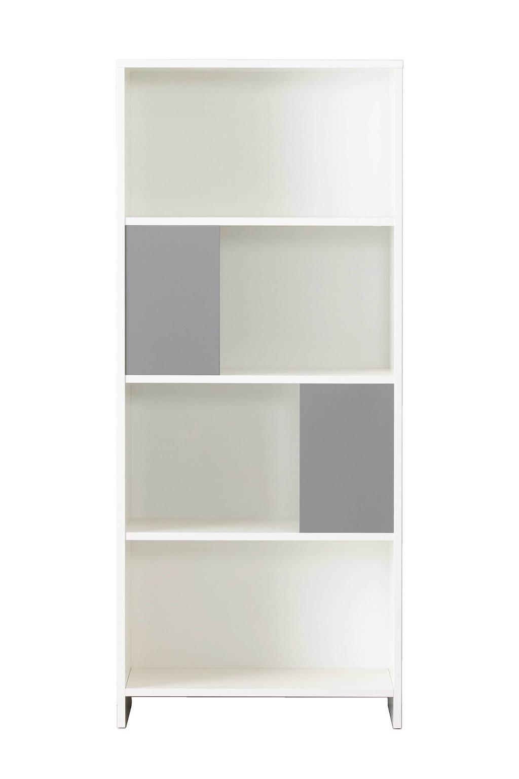 whkmp's own boekenkast Charlie, Wit/grijs