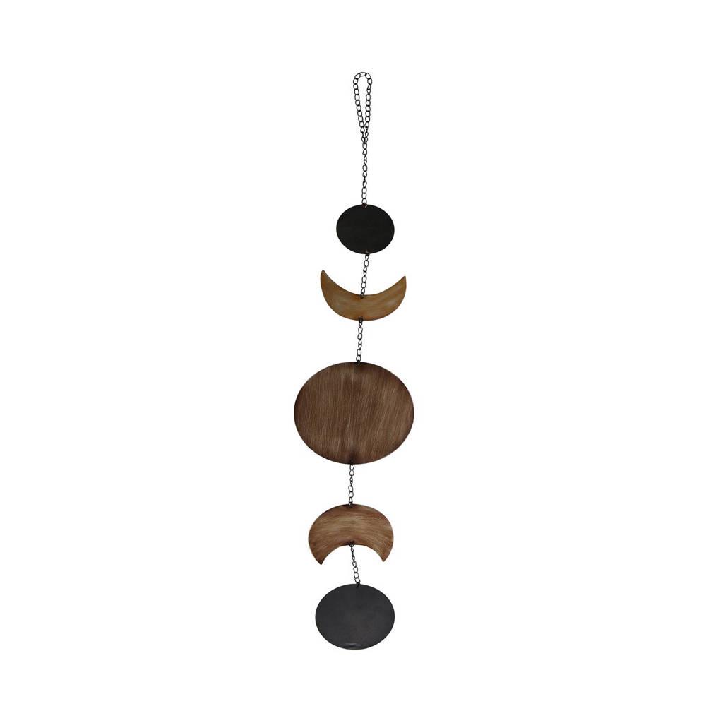 BePureHome decoratie slinger, Brass/bruin/zwart
