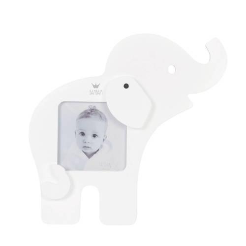fotolijst olifant wit in geschenkdoos