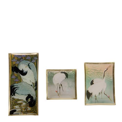 Schaaltjes Bird set van 3