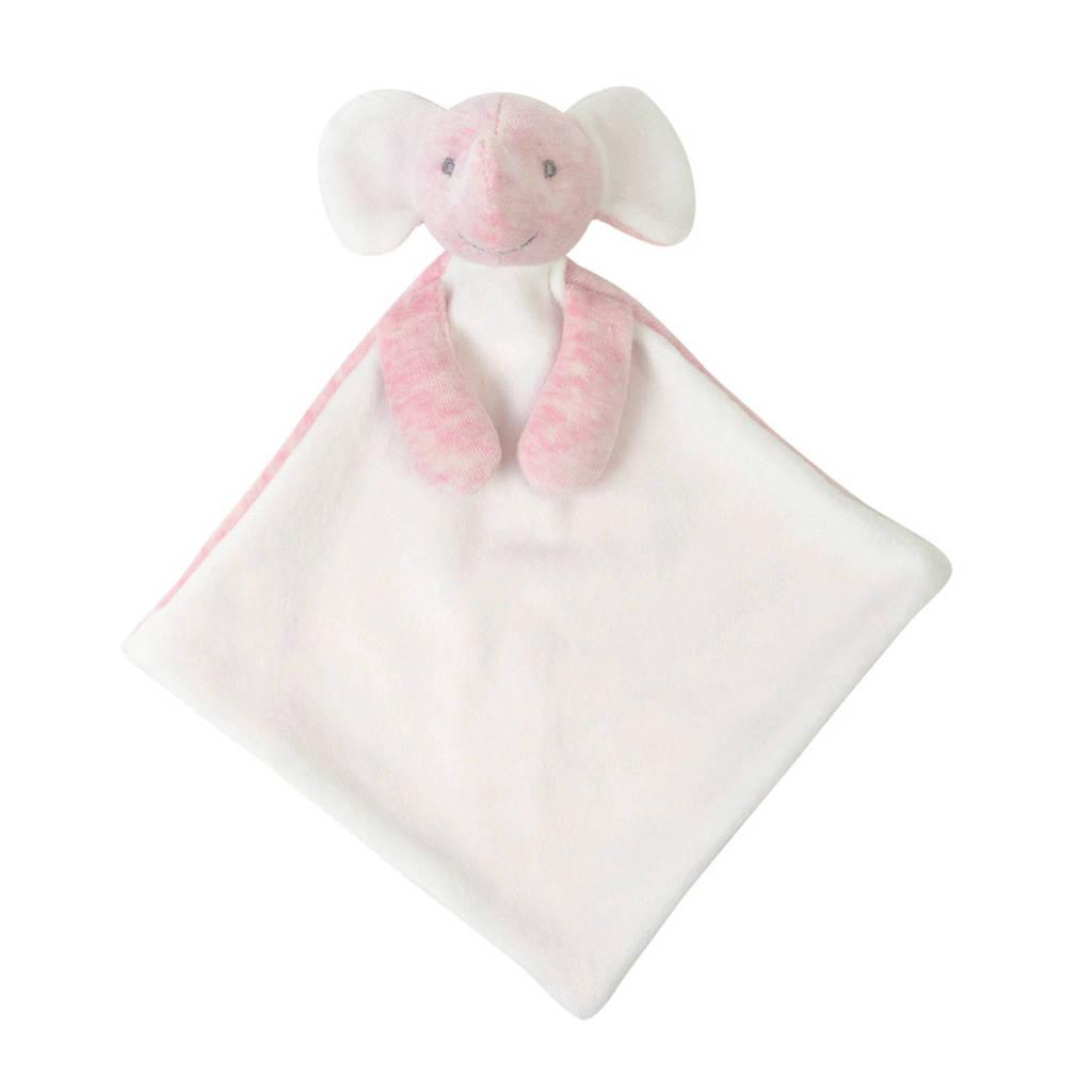 BamBam olifant roze knuffeldoekje, Pink