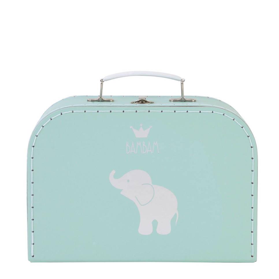 BamBam koffertje olifant large lagoon, Lagoon