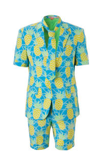 Opposuits Shineapple kostuum (heren)