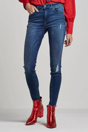 skinny jeans Blush donkerblauw
