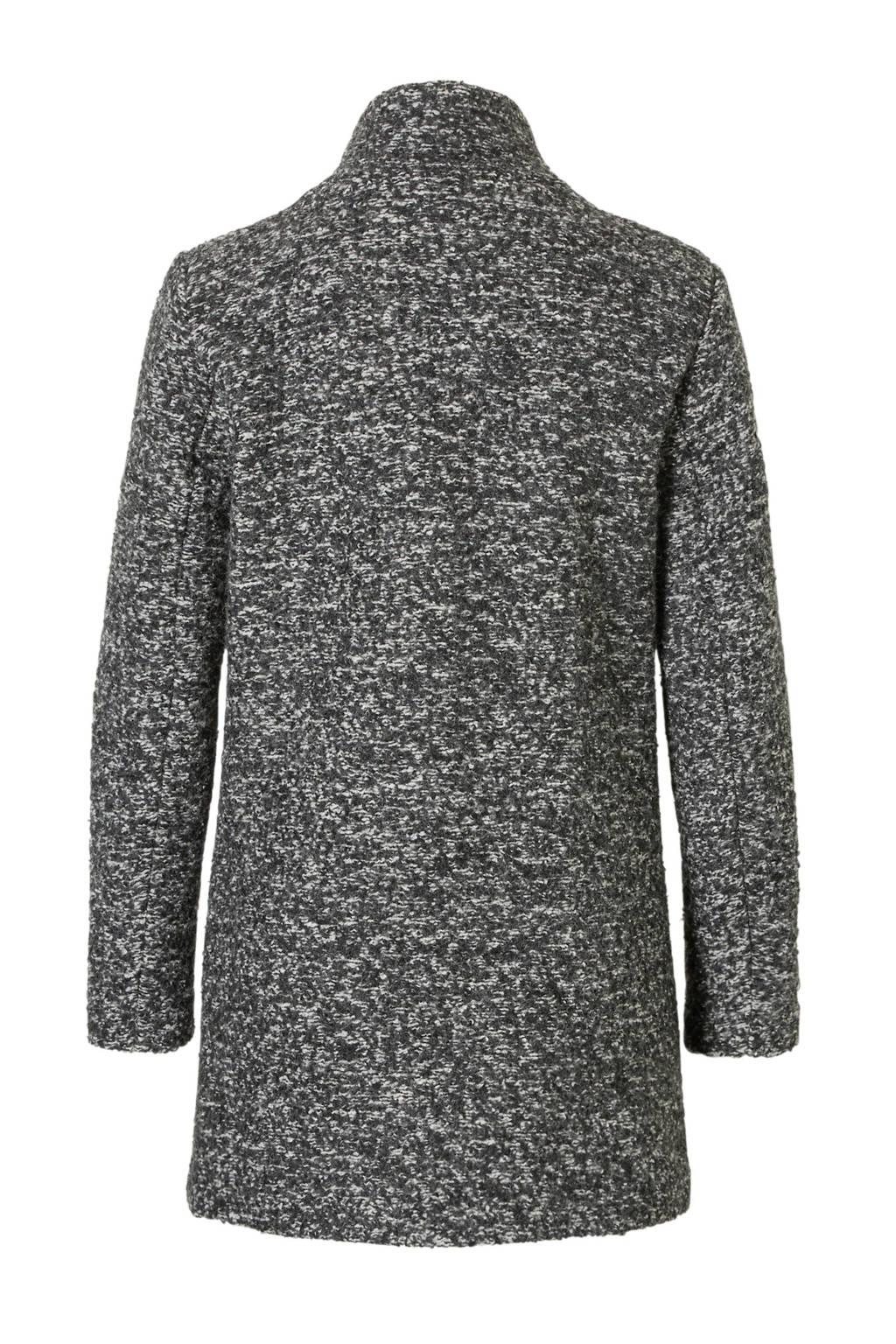 ONLY coat, Grijs/wit
