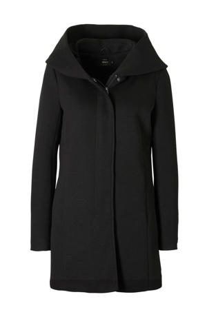 coat ONLSEDONA zwart