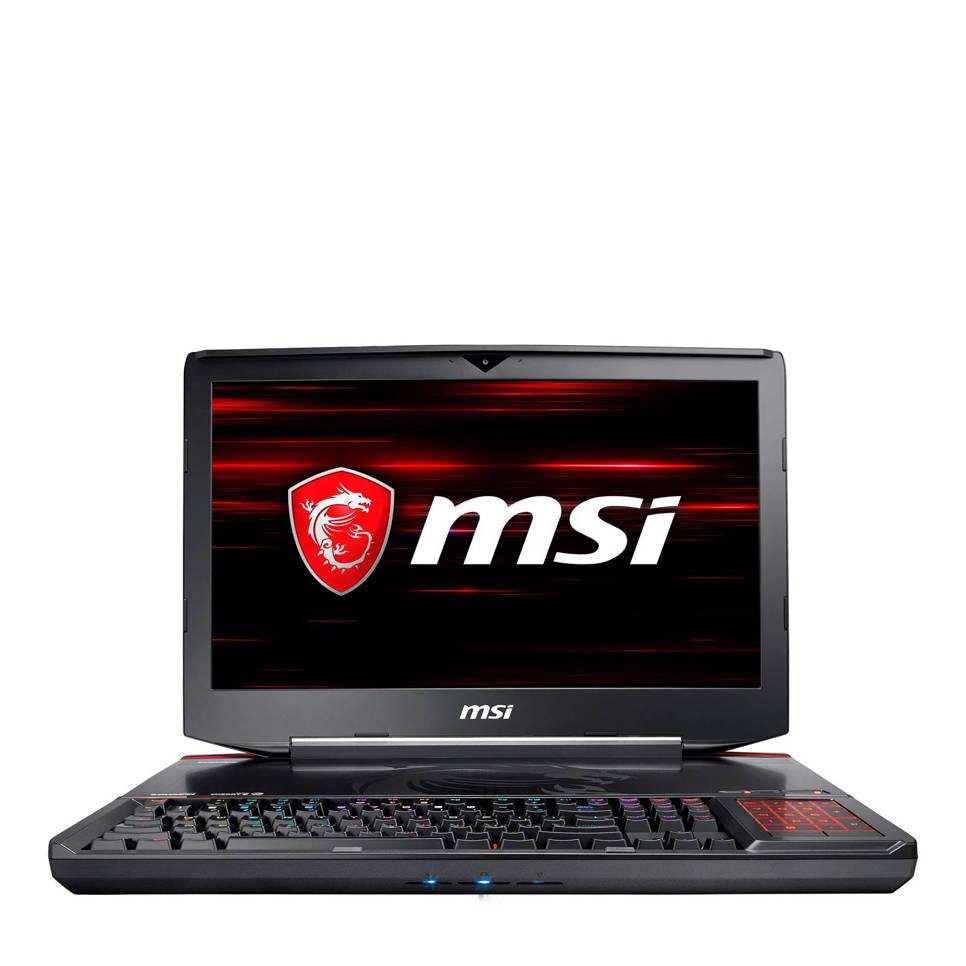 MSI GT83 8RF-023NL 18 inch Full HD gaming laptop, Zwart