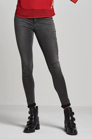 high waist skinny jeans ONLROYAL dark grey denim