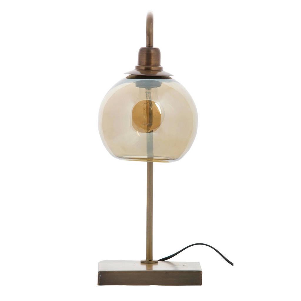 BePureHome Tafellamp Lantern, Antiek brass