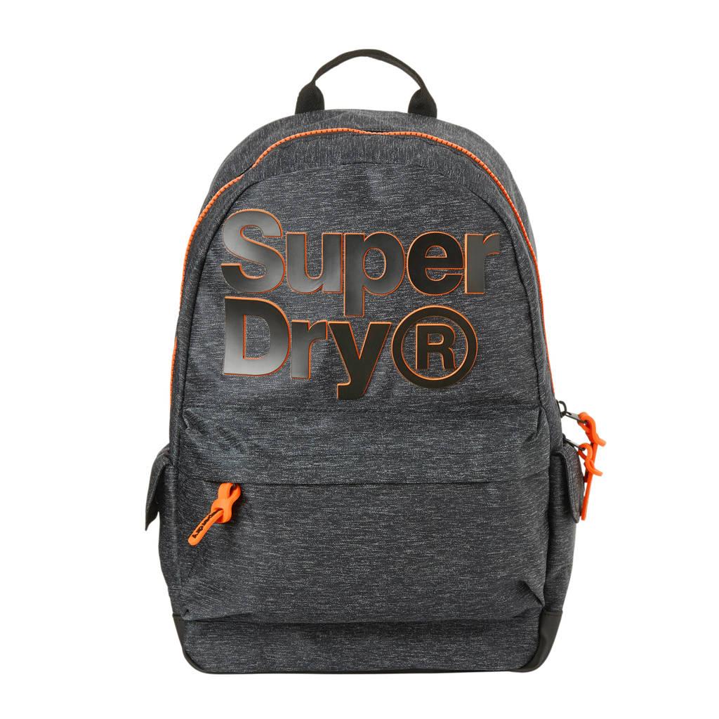 Superdry  rugzak, Grijs/oranje