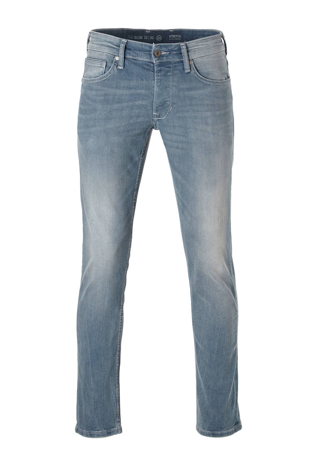 C&A The Denim slim fit jeans, Grijsblauw