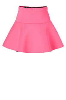 scuba A-lijn rok Lorena roze